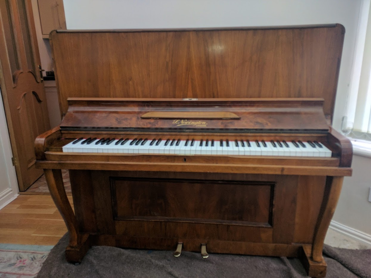 P Newington Upright Piano