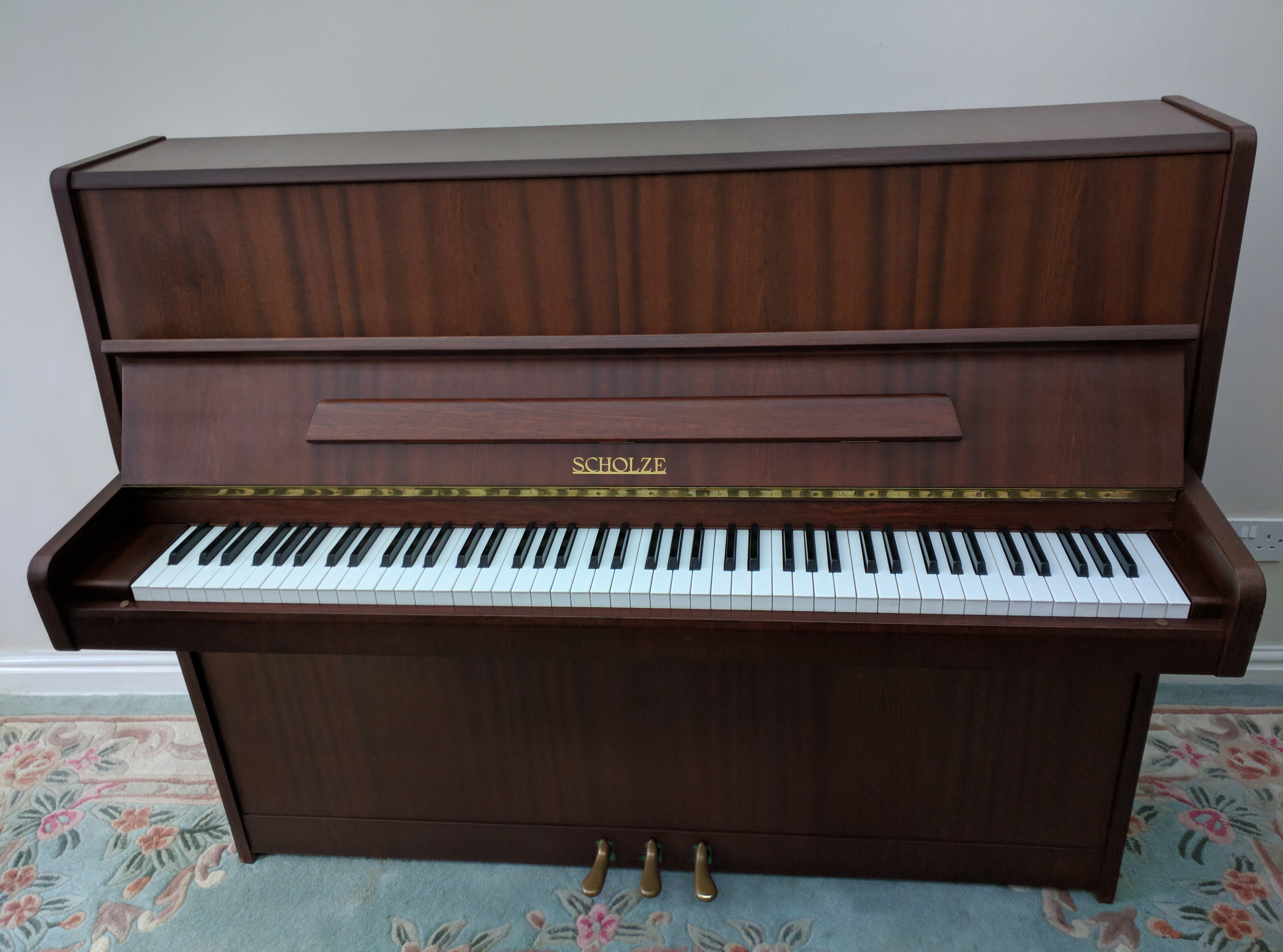 Scholze Upright Piano (made by Petrof)
